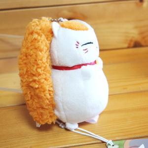 ニャンコ先生 ぬいぐるみマスコットキーホルダー(イカリング)夏目友人帳 82826|zakka-pumpkin|02