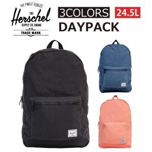 HERSCHEL ハーシェル DAYPACK デイパック リュックサック バッグ カバン 鞄 メンズ レディース 24.5L B4 10076|zakka-tokia