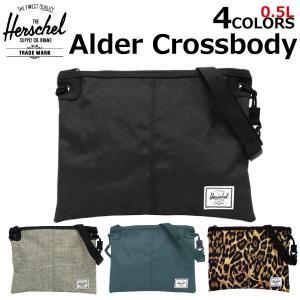 HERSCHEL SUPPLY ハーシェル サプライ Alder Crossbody アルダー クロスボディー 10357 メンズ レディース 5L ショルダーバッグ ボディバッグ|zakka-tokia
