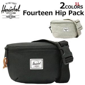 HERSCHEL SUPPLY ハーシェル サプライ Fourteen Hip Pack フォーティーン ヒップパック ボディバッグ ウエストバッグ ヒップバッグ バッグ  10514|zakka-tokia