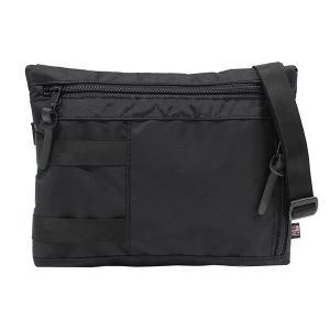 IGNOBLE イグノーブル Krupcheck Subdued Shoulder Bag ショルダーバッグ  バッグ メンズ B5 11020 ブラック zakka-tokia
