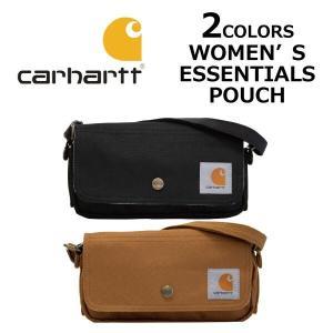 CARHARTT カーハート WOMEN'S ESSENTIALS POUCH ウーマンズ エッセンシャルズ ポーチ ショルダーバッグ カバン 鞄 137101|zakka-tokia