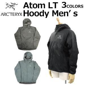 大決算セール開催中! ARCTERYX アークテリクス Atom LT Hoody Men's アトム フーディ メンズ ジャケット パーカー 24477 ブラック