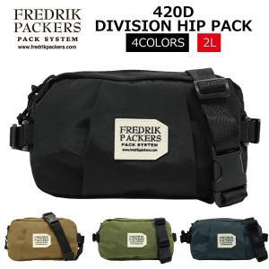 FREDRIK PACKERS フレドリックパッカーズ 420D Division Hip Pack...