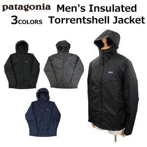patagonia パタゴニア Men's Insulated Torrentshell Jacke...