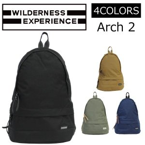 WILDERNESS EXPERIENCE ウィルダネスエクスペリエンス ARCH2 アーチ2 バックパック リュック リュックサック バッグ メンズ レディース|zakka-tokia