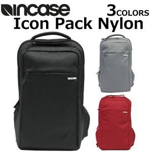 INCASE インケース Icon Pack Nylon アイコン パック ナイロン デイパック メンズ レディース CL55532 A3 ブラック|zakka-tokia