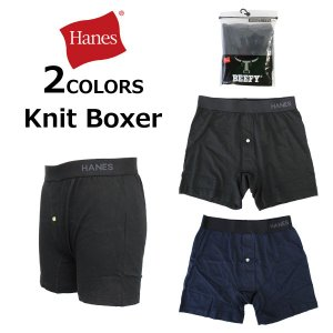 Hanes colors ヘインズ Knit Boxer ニットボクサー ブリーフ 下着 パンツ インナー メンズ HM7P101|zakka-tokia