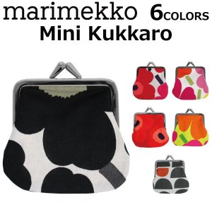 marimekko マリメッコ Mini kukkaro がま口 財布 コインケース 小銭入れ レディース 34773/39877 Mini Unikko|zakka-tokia