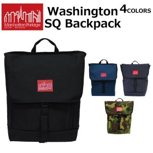 MANHATTAN PORTAGE マンハッタンポーテージ Washington SQ Backpa...