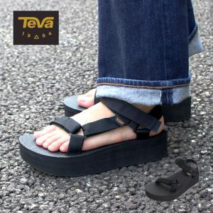 Teva テバ FLATFORM UNIVERSAL フラットフォームユニバーサル スポーツサンダル ビーチサンダル 厚底 シューズ 靴 レディース 1008844|zakka-tokia