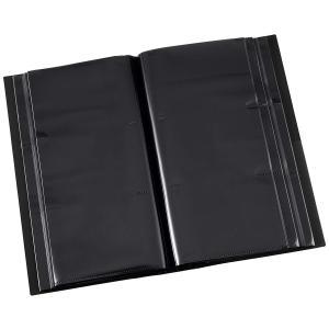 ナカバヤシ アルバム フォトグラフィリア L判 360枚 3段 ブラック PHL-1036-D|zakka-viento
