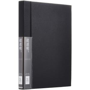 ナカバヤシ 高透明フィルムポケットアルバム 2Lサイズ用 タテ型 ブラック ホCX-2LS-D zakka-viento