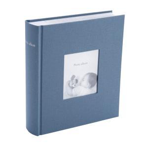 マークス ポストカードサイズ 200枚収納可 フォトフレームアルバム グレイッシュブルー CG-AL11-BGY|zakka-viento