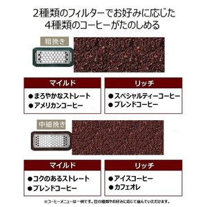 パナソニック 沸騰浄水コーヒーメーカー 全自動タイプ ブラック NC-A57-K