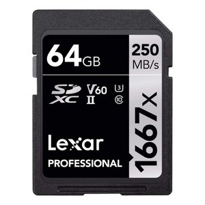 Original Lexar 1667x V60 250MB/s Flash Memory sd cards 64gb 128GB UHS-|zakka-viento