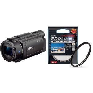 ソニー SONY ビデオカメラ FDR-AX60 4K 64GB 光学20倍 ブラック Handyc...