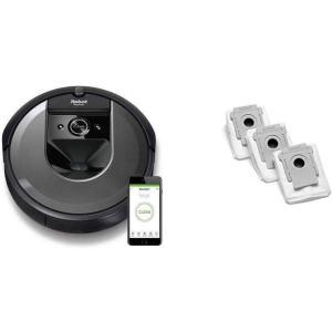 セット買いルンバ i7 アイロボット 最新 ロボット掃除機 水洗いできるダストボックス wifi対応...