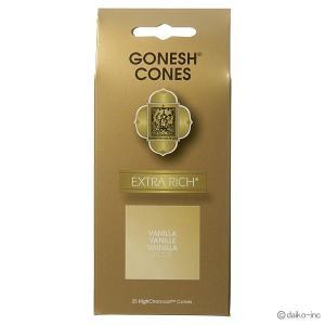 GONESH/EXTRA RICH VANILLA コーン25ヶ入