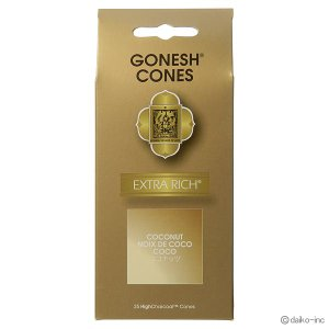 GONESH/EXTRA RICH COCONUT コーン25ヶ入