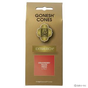 GONESH/EXTRA RICH STRAWBERRY コーン25ヶ入