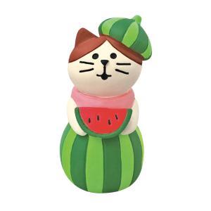 DECOLE concombre スイカの妖精猫|zakkahibinene