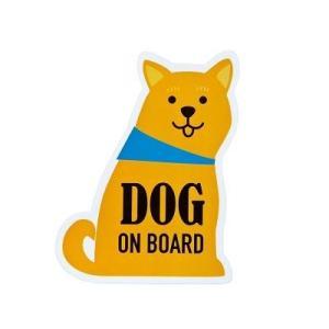 DECOLE MAYPOLE メッセージステッカー (DOG ON BOARD) zakkahibinene