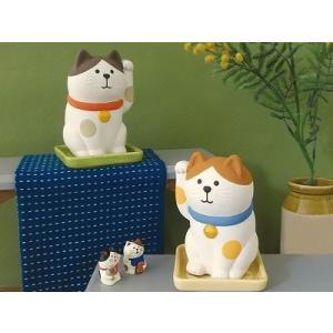 DECOLE concombre しっとり壺 まねき猫|zakkahibinene