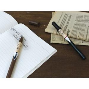 DECOLE ROMANCE GRAY GENTLEMAN ボールペン|zakkahibinene