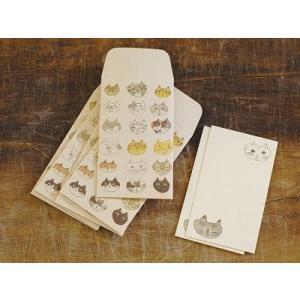 倉敷意匠計画室 トラネコボンボン ポチ袋+カードセットM (Cat)|zakkahibinene