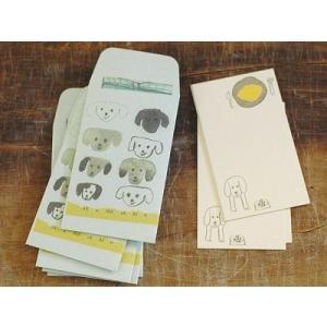 倉敷意匠計画室 トラネコボンボン ポチ袋+カードセットM (Dog)|zakkahibinene