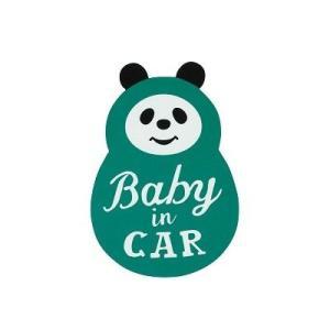 DECOLE PONOZKY リフレクターCARマグネット (BABYパンダ)|zakkahibinene