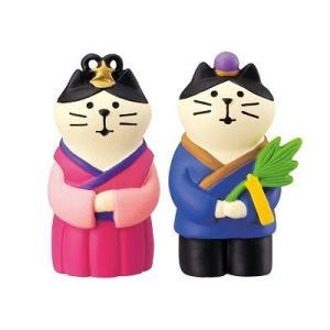 DECOLE concombre 織姫猫と彦星猫 zakkahibinene