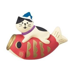 DECOLE concombre 鯉のぼり猫|zakkahibinene