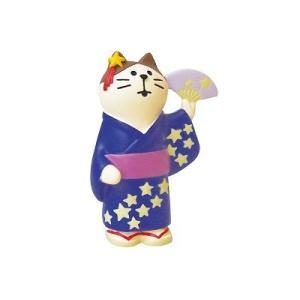 DECOLE concombre 浴衣猫 天の川|zakkahibinene