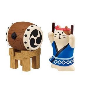 DECOLE concombre 和太鼓猫セット|zakkahibinene