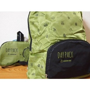 SPICE KURURIN TRAVEL D-PACK (KHAKI) (消臭・抗菌機能付き)|zakkahibinene