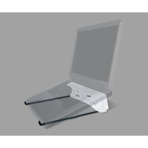 GPG2 ノートパソコン用 折りたたみ 軽量 スタンド ノートPC 持ち運び デスク MacBook対応 熱対策 (ホワイト)|zakkaichiban