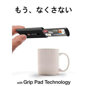 GPG2 SIMカードケース 粘着式グリップパッド技術 micro mini SD カード 紛失防止 持ち運び ケース SIM変換アダプタ 4点 セット ブラック 【国内正規輸入品】|zakkaichiban