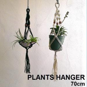 プランツハンガー 植物 エアプランツ ハンギング 吊るす 飾る 70cm PLANTS HANGER シングルS|zakkamag