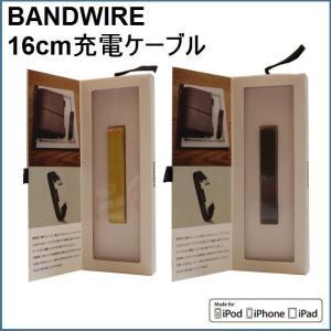 充電ケーブル スマホ iphone ipod ipad ライトニングケーブル Apple製品対応 カラビナ NuAns BANDWIRE|zakkamag