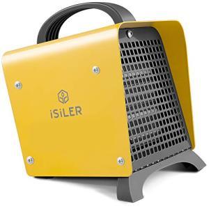 2018最新バージョンファンヒーター iSiLER セラミックファンヒーター 小型 足元 省エネ 電気ヒーター 1200W 6畳