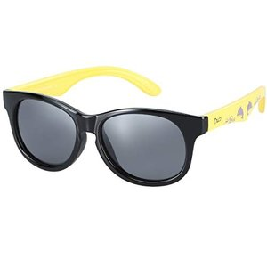 DUCO キッズサングラス 子供サングラス 偏光レンズ 超軽量フレーム  UV紫外線カット K018...