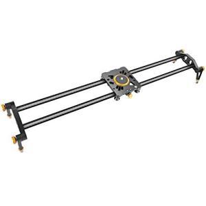 Neewer 47.2インチ/120センチ炭素繊維カメラトラックスライダビデオスタビライザーレール ...