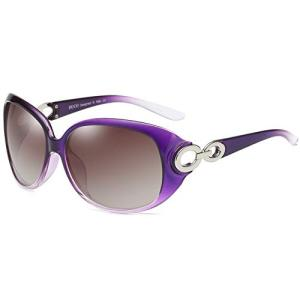 DUCO サングラス レディース 偏光レンズ sunglasses women 紫外線 UV400カ...
