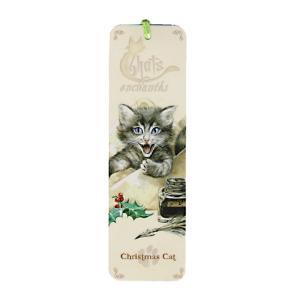 セブリーヌキャット ネコのしおり (クリスマス×手紙) Christmas cat フランス製