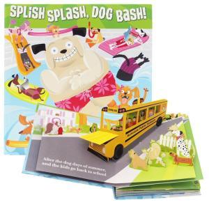 しかけ絵本 | 飛び出す絵本 イースター (SPLISH SPLASH, DOG BASH! | イ...