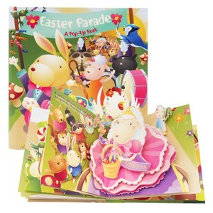 しかけ絵本 | 飛び出す絵本 イースター (Easter Parade | イースター・パレード) ...