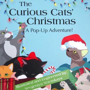 しかけ絵本   飛び出す絵本 クリスマス (Curious Cat's Christmas   猫のクリスマス) ポップアップ
