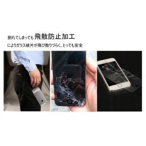 iphone7/7 plus/6s/6plus/6/6 Plus/SE/5S/5C/5, galaxy s6/s5用 表面硬度9H 厚さ0.33mm 強化ガラス製フィルム|zakkas|02